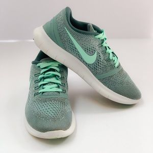 Nike Free Run Mint Green